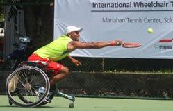 Championnat international de fauteuil roulant de tennis Photos stock