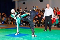 championnat kickboxing 2011 de tiers monde Image stock