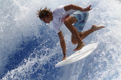 Championnat Majorque du monde de Waveboard image libre de droits