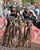 Championnat national de cyclo-cross - femmes d'élite Photographie stock