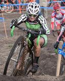 Championnat national de cyclo-cross - femmes d'élite Photo stock
