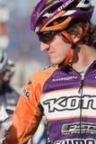 Championnat national de cyclo-cross - hommes d'élite Image libre de droits