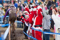 Championnat national de cyclo-cross - hommes d'élite Images stock