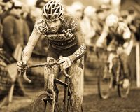 Championnat national de cyclo-cross - hommes d'élite Image stock