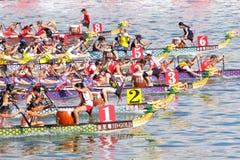 Championnats 2012 du monde d'équipage de club d'IDBF Images stock