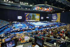 2013 championnats artistiques européens de gymnastique Photographie stock