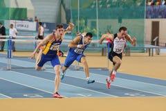 Championnats d'intérieur d'athlétisme balkanique Image libre de droits