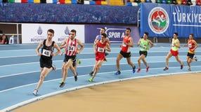 Championnats d'intérieur de la jeunesse turque de Turkcell Image stock