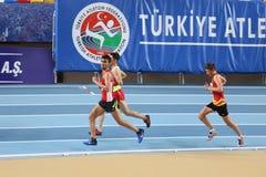 Championnats d'intérieur de la jeunesse turque de Turkcell Photographie stock libre de droits