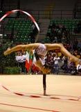 Championnats d'Italien de gymnastique rhythmique Photos stock
