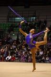 Championnats d'Italien de gymnastique rhythmique Images stock