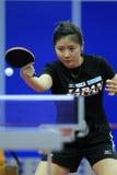 Championnats de ping-pong d'équipe du monde Photo libre de droits