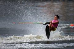 Championnats 2014 de ski et de sillage de Putrajaya Nautique Image libre de droits