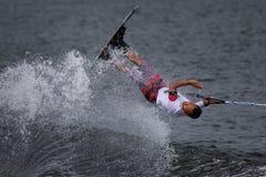Championnats de ski et de sillage de Putrajaya Nautique Photo libre de droits