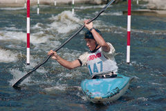 Championnats de Whitewater de Canadien Images stock