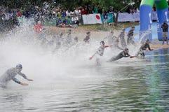 Championnats interurbains 2012 du monde de Triathlon Image libre de droits