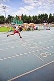 Championnats italiens de l'athlétisme pour paralympic image stock