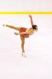 Championnats italiens du patinage artistique 2012 Photographie stock