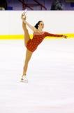 Championnats italiens du patinage artistique 2012 Photographie stock libre de droits