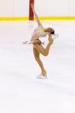 Championnats italiens du patinage artistique 2012 Photos stock