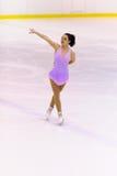 Championnats italiens du patinage artistique 2012 Images stock
