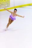 Championnats italiens du patinage artistique 2012 Image stock