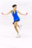 Championnats italiens du patinage artistique 2012 Photo stock