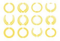 Champions значки трофея также вектор иллюстрации притяжки corel Стоковая Фотография