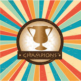 Champions Royalty Free Stock Photo