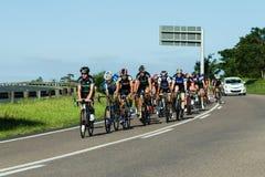 Champions de route de recyclage Image stock