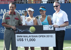 Champions of Doubles BMW Malaysian Open 2012 Stock Photography