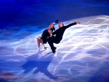 Champions on ice-Rimini 2012- Ilinykh & Katsalapov Royalty Free Stock Photos
