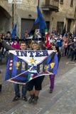 Champions internationaux de club du football de l'Italie Photographie stock libre de droits