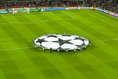 Champions leage Barça-Bayer Leverkusen (7-1) Royalty Free Stock Photo
