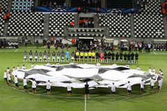 Champions League Anthem Stock Images