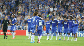 2012 Champions League Final Chelsea Training Royalty Free Stock Image