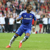2012 Champions League Final Chelsea Training Stock Image