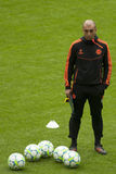 2012 Champions League Final Chelsea Training Stock Images