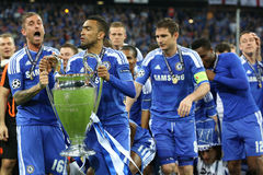 2012 Champions League Final Chelsea Training Royalty Free Stock Photos