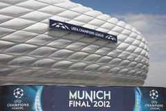 2012 Champions League Final Preview Royalty Free Stock Images