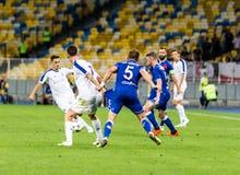 Champions League futbolowego dopasowania dynama Kyiv †'slavia prague, A Zdjęcia Stock