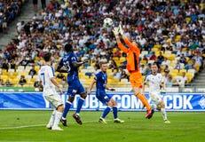 Champions League futbolowego dopasowania dynama Kyiv †'slavia prague, A Zdjęcie Stock