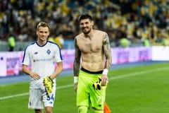 Champions League futbolowego dopasowania dynama Kyiv †'slavia prague, A Obraz Royalty Free