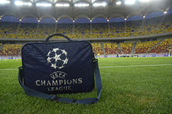 Champions League Medical Kit Stock Image