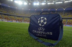 Champions League Medical Kit Stock Photo
