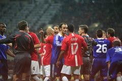 Champions League-Schluss angehalten am Luzhniki Stadion MO Stockfotos