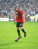 Champions League soccer match Royalty Free Stock Photography