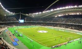 Champions League-Spiel Lizenzfreies Stockbild