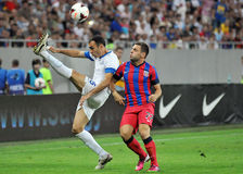 CHAMPIONS LEAGUE: STEAUA BUCHAREST-DINAMO TBILISI Royalty Free Stock Images
