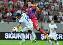 CHAMPIONS LEAGUE: STEAUA BUCHAREST-DINAMO TBILISI Royalty Free Stock Photo